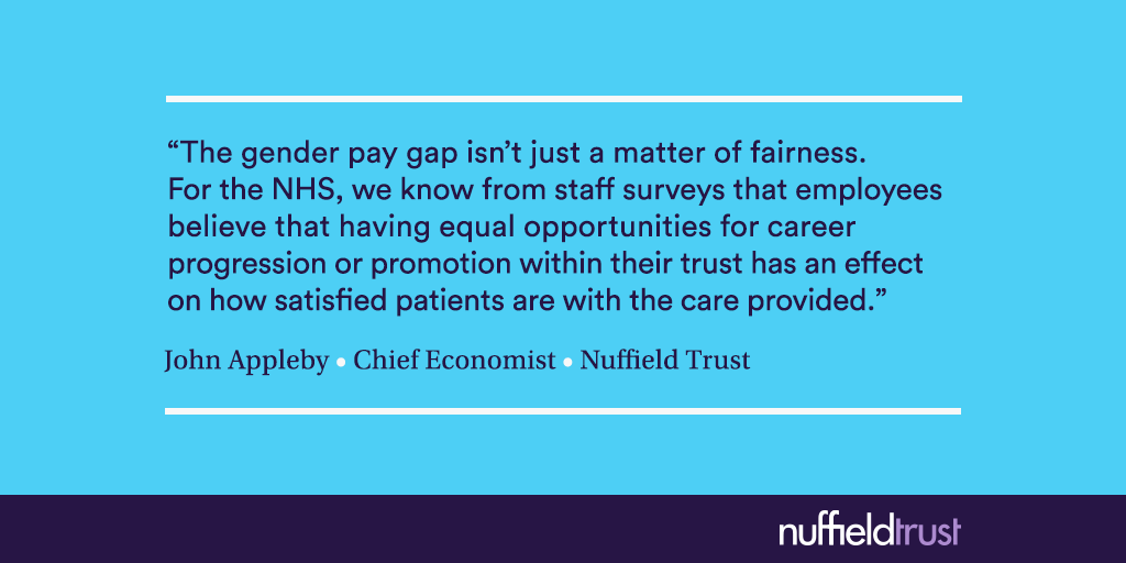The Gender Pay Gap In The NHS: The Story So Far
